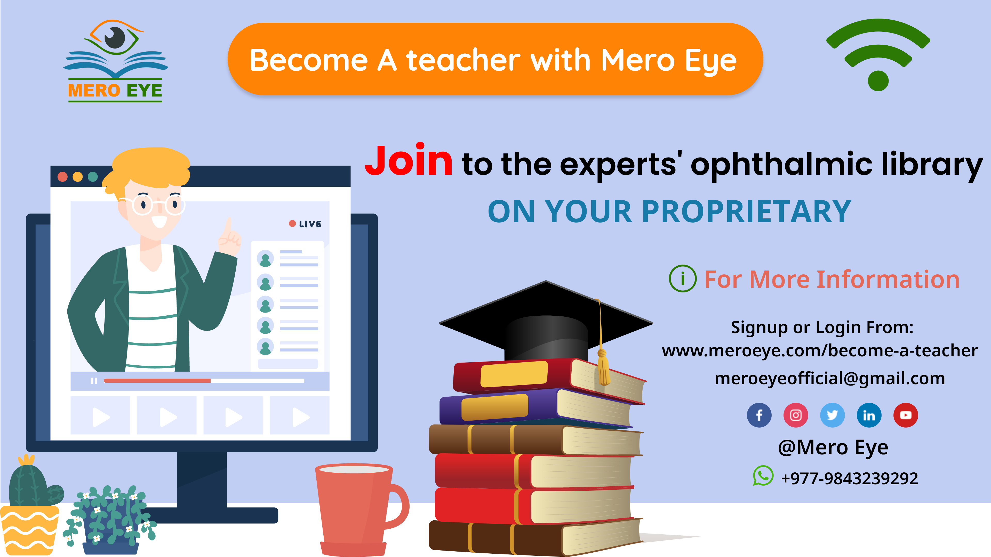 Became a teacher mero eye