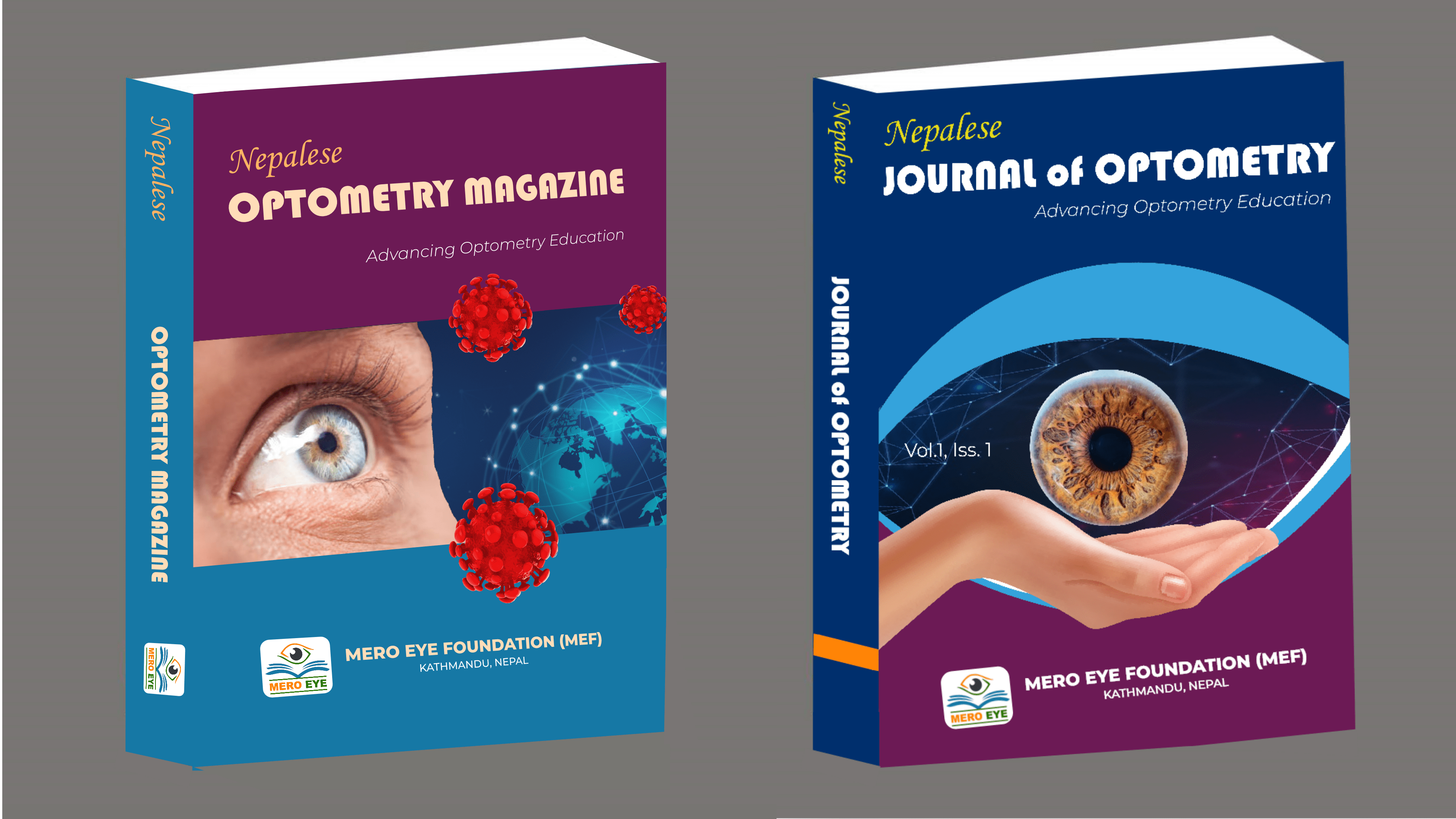 journal and magazine cover